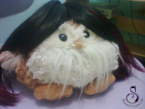 Peruca estilo Ninon Beart (KOF)